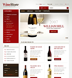 Wines for Gourmets - PrestaShop Theme #40296 by Hermes