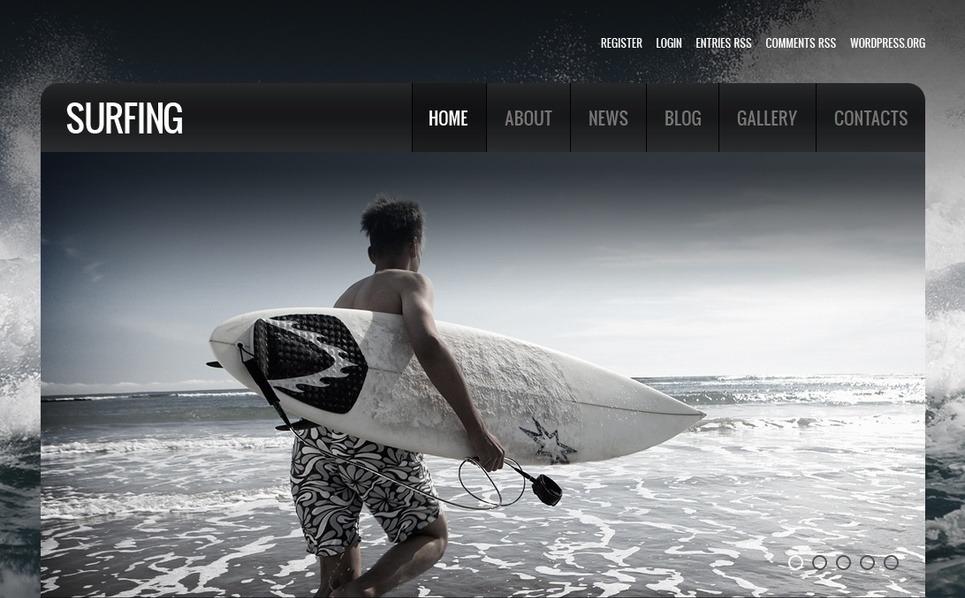 Surfing Moto CMS HTML Template New Screenshots BIG