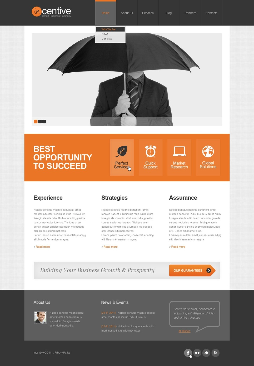 Advertising Agency WordPress Themes