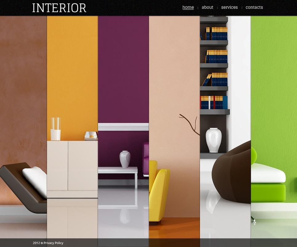 Http Www Digitalofficepro Com Flash Templates Interior Design Flash Template 40372 Html