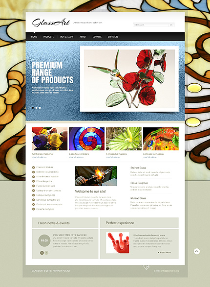 Website Template #40473