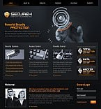 Stretched Flash CMS Theme #40620