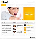 Stretched Flash CMS Theme #40624