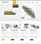 Stretched Flash CMS Theme #40628