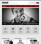 Stretched Flash CMS Theme #40633