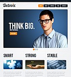 Stretched Flash CMS Theme #40635