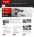 Stretched Flash CMS Theme #40637