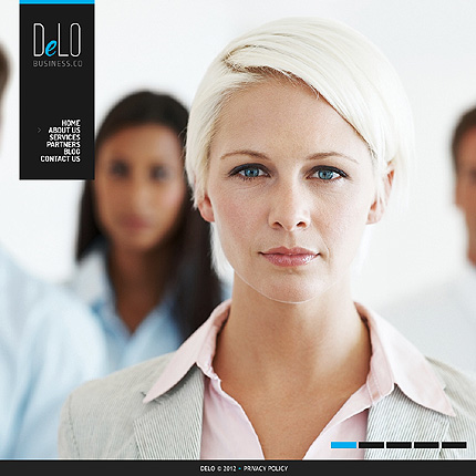 View Live Demo for  Delo – Best Responsive Theme for Corporate and Business WordPress Websites