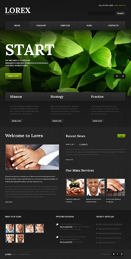 Lorex - Best WordPress Theme For Business And Corporate