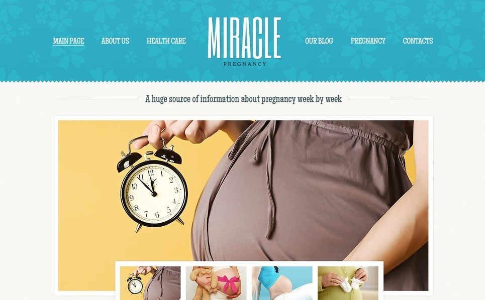 Pregnancy WordPress Theme New Screenshots BIG