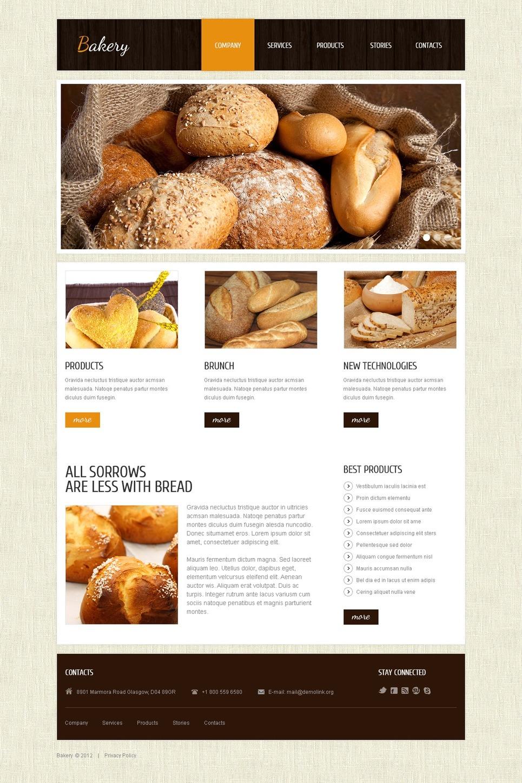 Fresh Bakery Joomla Template