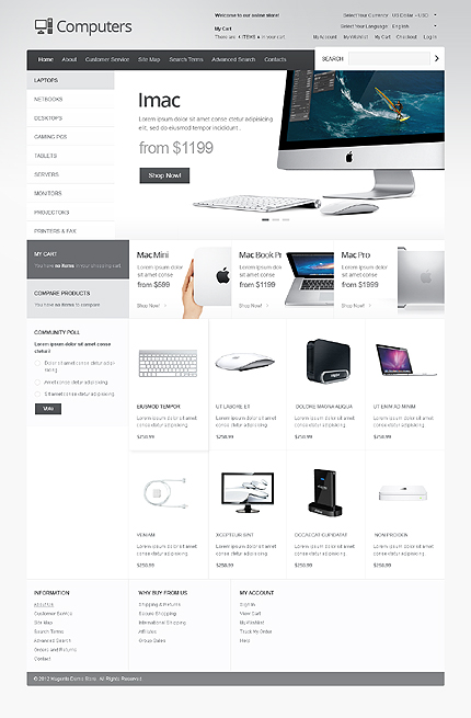 Website Template #40848