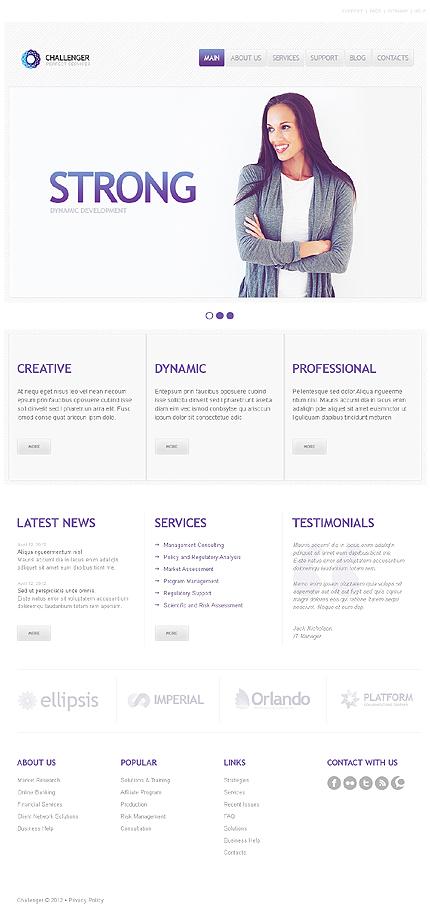 Challenger - Best Responsive Business Management Theme
