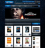 CD & DVD Store - PrestaShop Theme #40975 by Ares