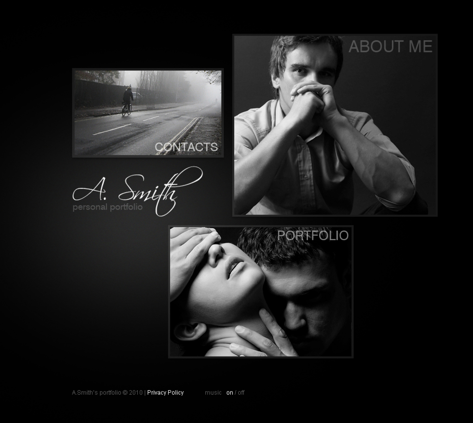 Black and White Photo Portfolio - image