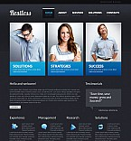 Stretched Flash CMS Theme #40995