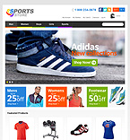 Responsive Sports Store - PrestaShop Theme #41142 by Hermes