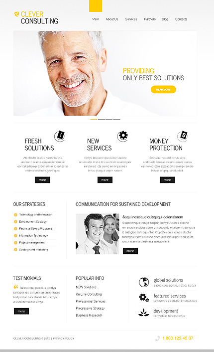 Clever consulting - Best WordPress Theme For Corporate