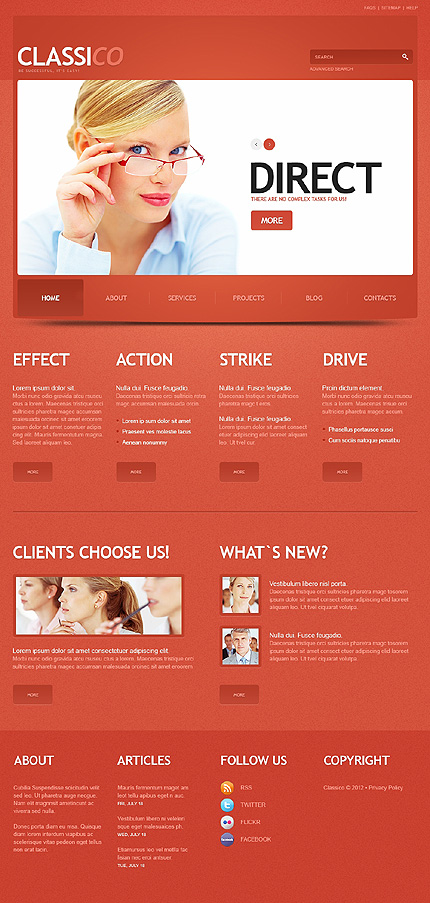 Classico - Best WordPress Theme For Business