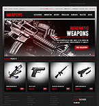 Weapons Store - PrestaShop Theme #41238 by Hermes