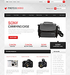 Photo & Video Equipment - PrestaShop Theme #41239 by Ares