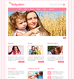 Website template #41266 by Angela