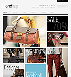 Leather Handbags - PrestaShop Theme #41289 by Mercury