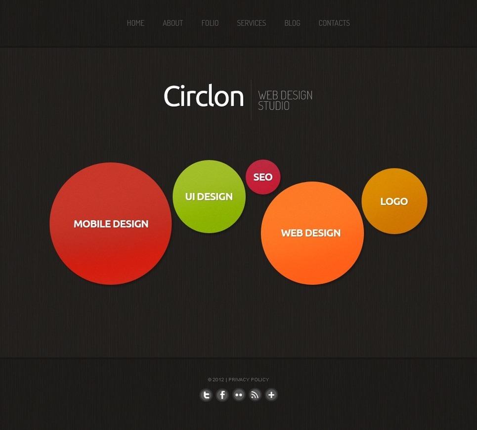 Дизайн студии web