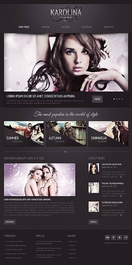Karolina - Best Responsive Joomla Template For Beauty And Fashion
