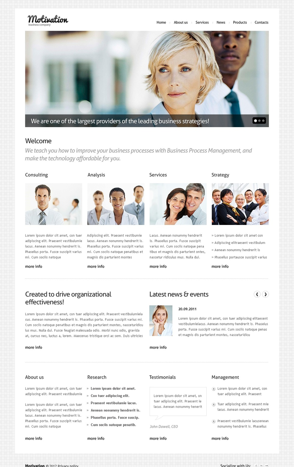 Business Website Template for Money Making - image