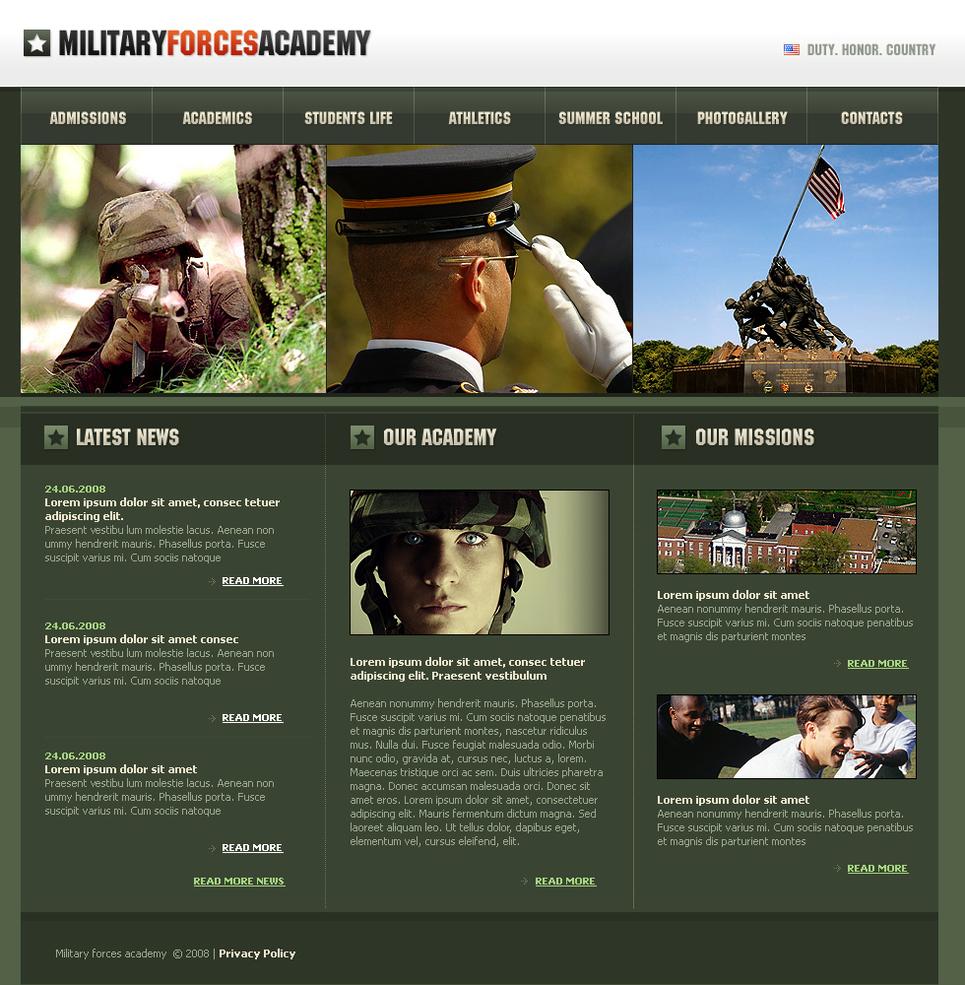MotoCMS HTML Vorlage #41316 aus der Kategorie Militär - image