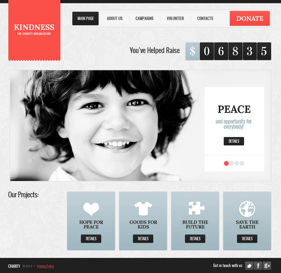 MotoCMS HTML Vorlage #41317 aus der Kategorie Wohltätigkeit - image