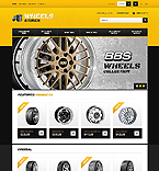 Wheels & Tires - PrestaShop Theme #41368 by Ares
