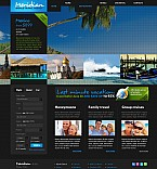 Stretched Flash CMS Theme #41383