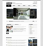 Stretched Flash CMS Theme #41384