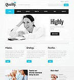 Stretched Flash CMS Theme #41388