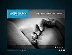 Flash CMS Template #41390 by Ares