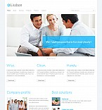 Stretched Flash CMS Theme #41392