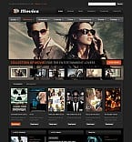 Stretched Flash CMS Theme #41394