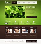 Stretched Flash CMS Theme #41396