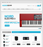 Audio Store - PrestaShop Theme #41479 by Ares