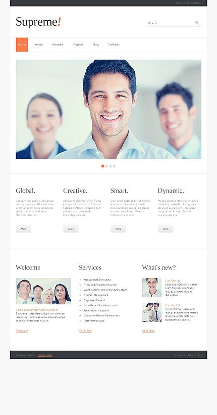 Supreme - Best Responsive Consulting WordPress Theme