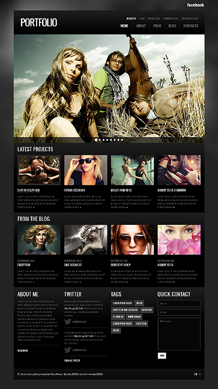 Portfolio - Best Photographer Portfolio WordPress Theme