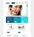 Website template #41522 by Sawyer