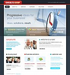 Stretched Flash CMS Theme #41535