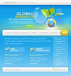 Stretched Flash CMS Theme #41537