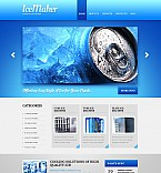 Stretched Flash CMS Theme #41548