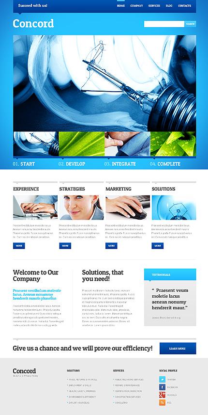 Concord - Best Responsive Corporate WordPress Theme