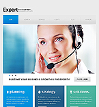Drupal template #41593 by Sawyer