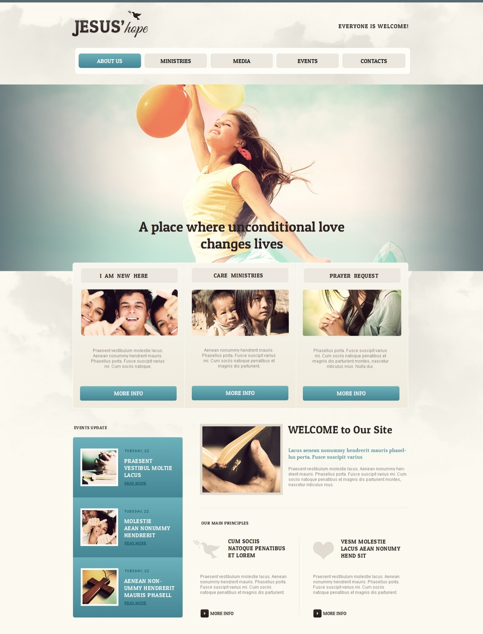 Nonprofit and Religious Organization Template - image